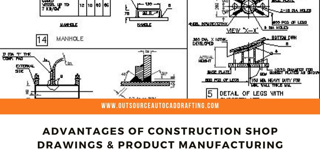 Advantages of Construction Shop Drawings & Product Manufacturing