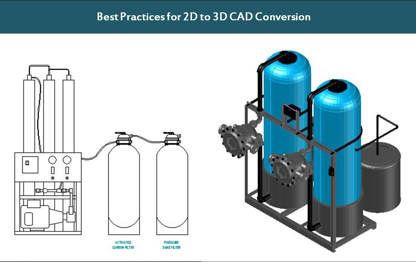 Best practices for 2D to 3D CAD Conversion Services